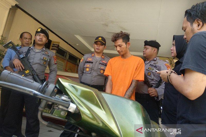 Polisi tangkap residivis penggelapan curi kendaraan