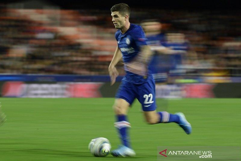 Alami cedera otot, Christian Pulisic menepi beberapa pekan dari Chelsea