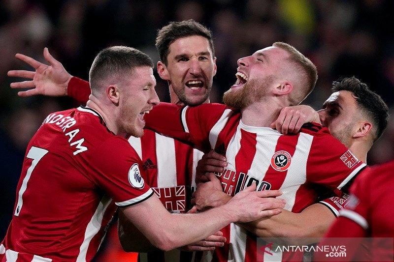 VAR menit-menit akhir memastikan Sheffield United menang atas West Ham