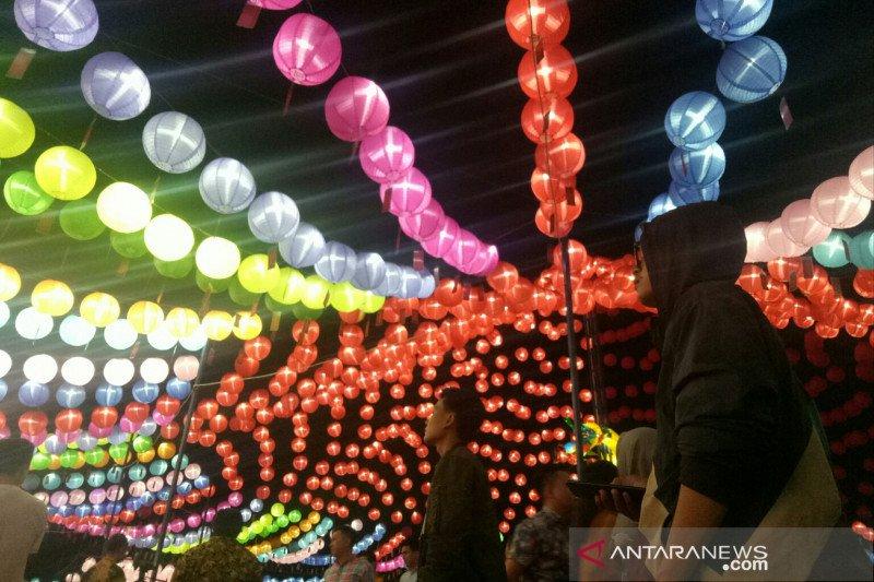 10.000 lampion sambut Imlek dan Cap Go Meh di  Palembang