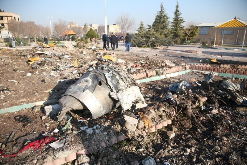 Jaksa Iran: penembakan jatuh pesawat Ukraina karena kesalahan manusia