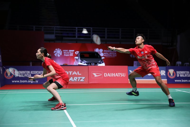 Semifinal Malaysia Masters, Hafiz/Gloria tantang unggulan pertama