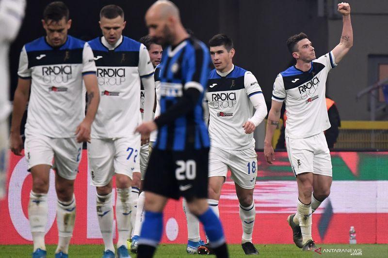 Inter jamu Atalanta hanya dapat satu poin