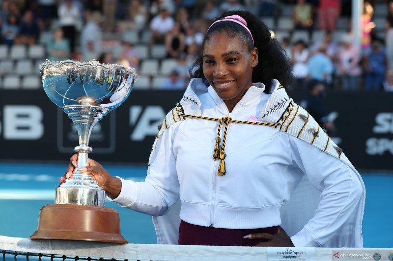 Petenis Serena Williams akhiri puasa gelar selama tiga tahun