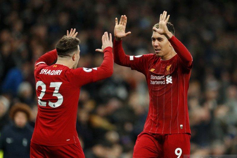 Hasil dan klasemen Liga Inggris, Liverpool unggul 16 poin
