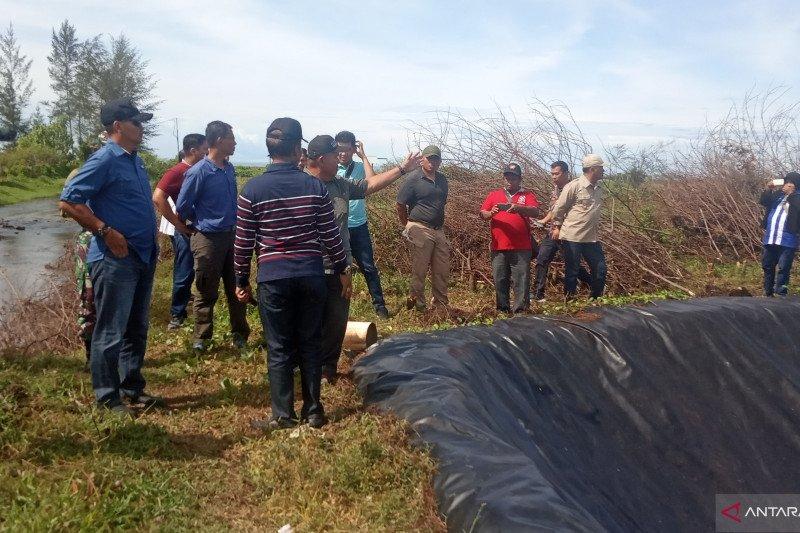 Korem 032 Wirabraja Kembangkan Udang Vaname Gunakan Bios 44 di Agam