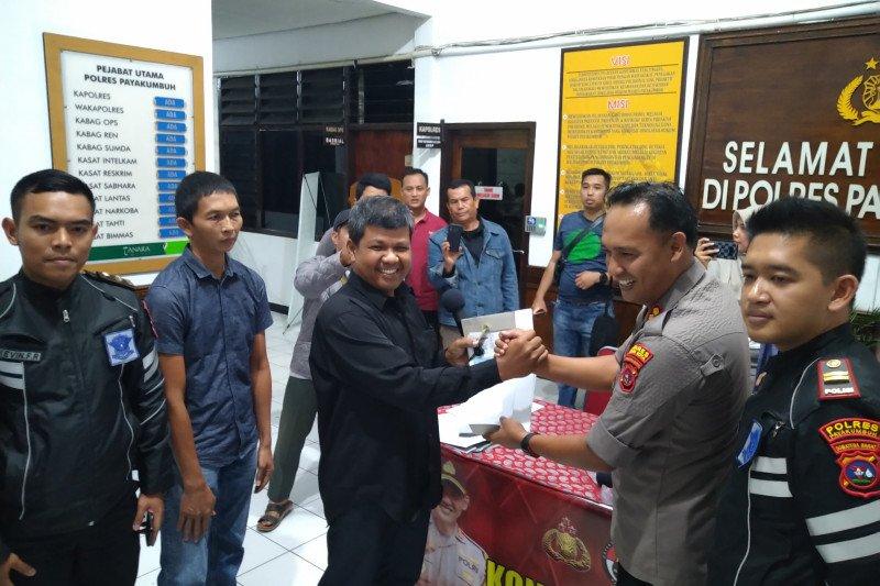 Warga Payakumbuh yang kehilangan motor,  coba  cek  di  www.polrespayakumbuh.org