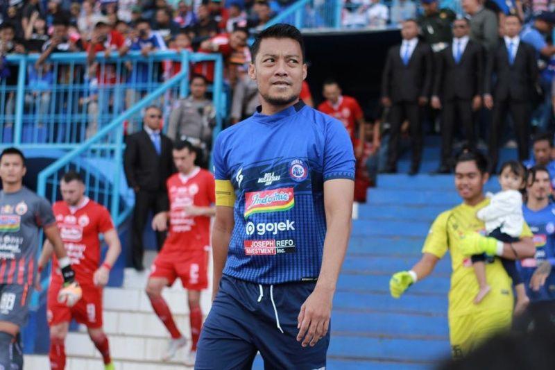 Hamka Hamzah ingin bibit muda termotivasi bermain di Persita