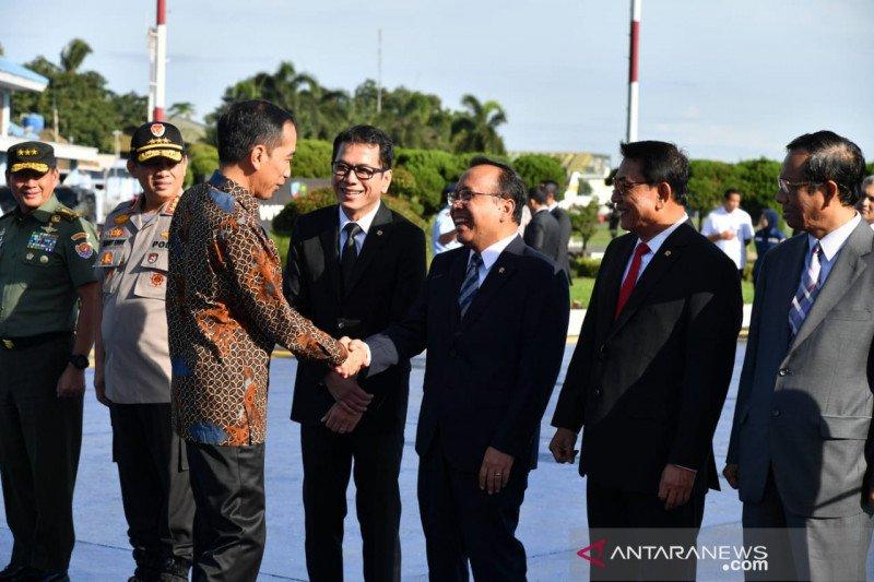 Presiden Jokowi bertolak ke  UEA