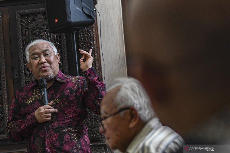 Din Syamsuddin berharap pemerintah usut kasus pelarungan jenazah ABK