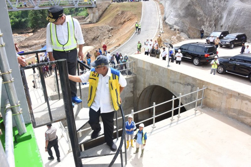 Presiden dijadwalkan resmikan Terowongan Nanjung di Bandung bulan ini