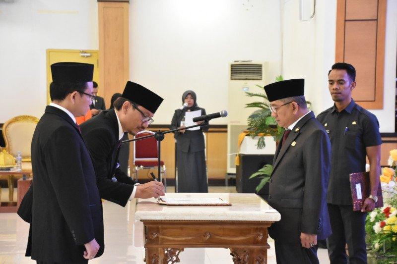 Ali Baal lantik Hasoloan Manalu jadi Kepala Perwakilan BPKP Sulbar