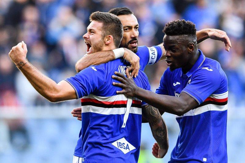 Sampdoria menang 5-1 atas Brescia