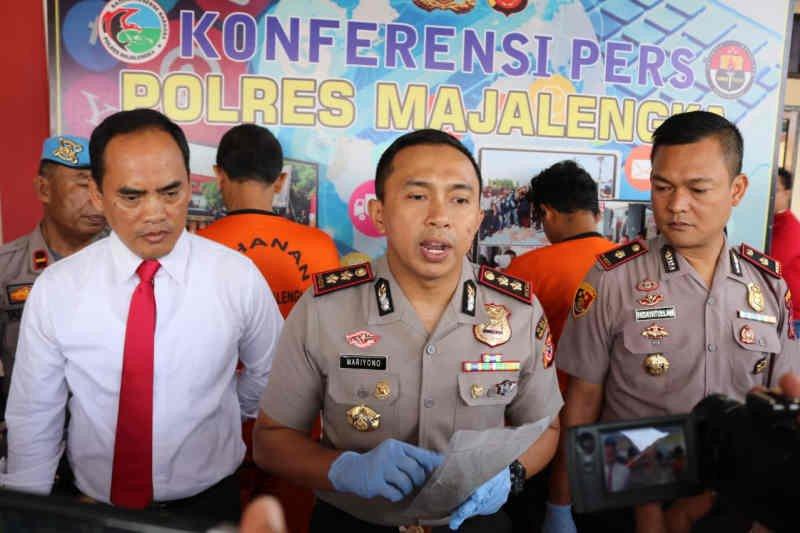 Polres Majalengka tangkap empat penyalahguna narkoba