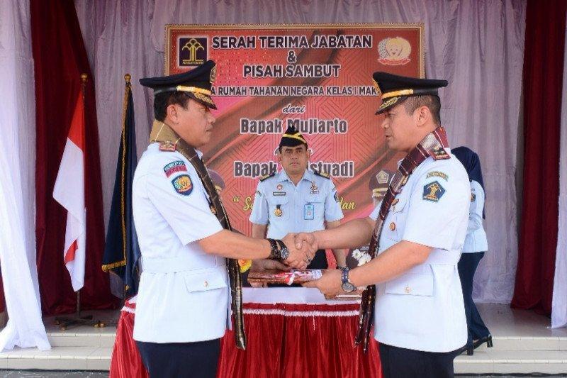 Sulistyadi jabat Kepala Rutan kelas I Makassar