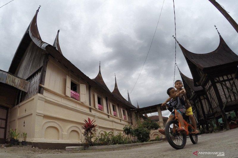 Pemkab Dharmasraya akan revitalisasi 40 unit rumah gadang