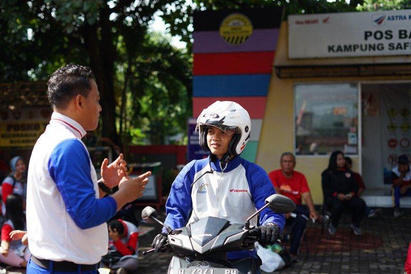 """Kampung """"Safety Riding"""" masuk nominasi Lurah Hebat Semarang"""