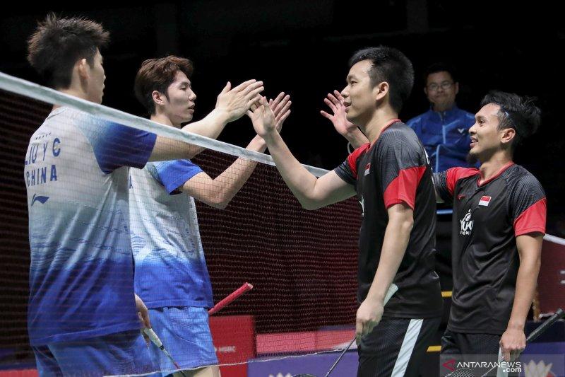 Pasangan Hendra/Ahsan waspadai calon lawan di semifinal