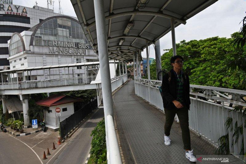 Rencana jembatan khusus terminal - stasiun Manggarai