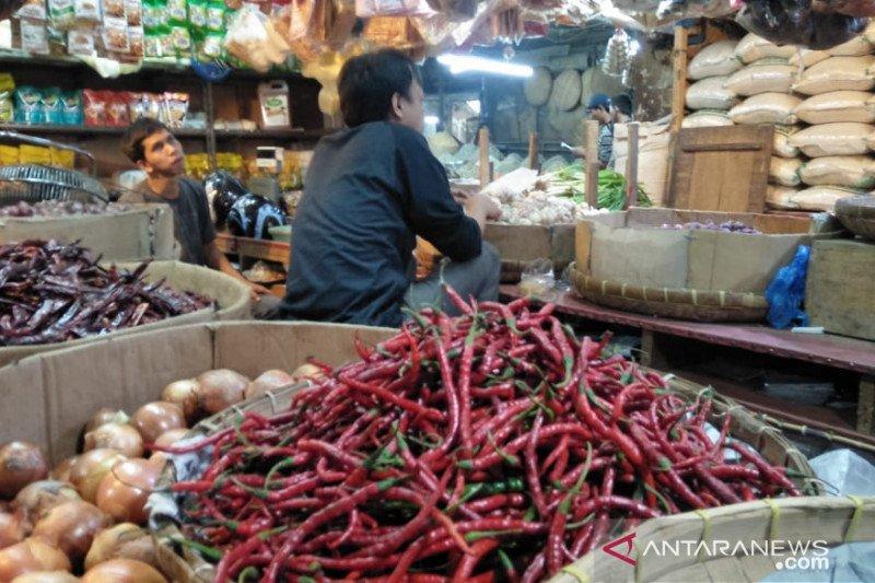 Harga cabai merah di Cianjur melambung jadi Rp80.000/kg