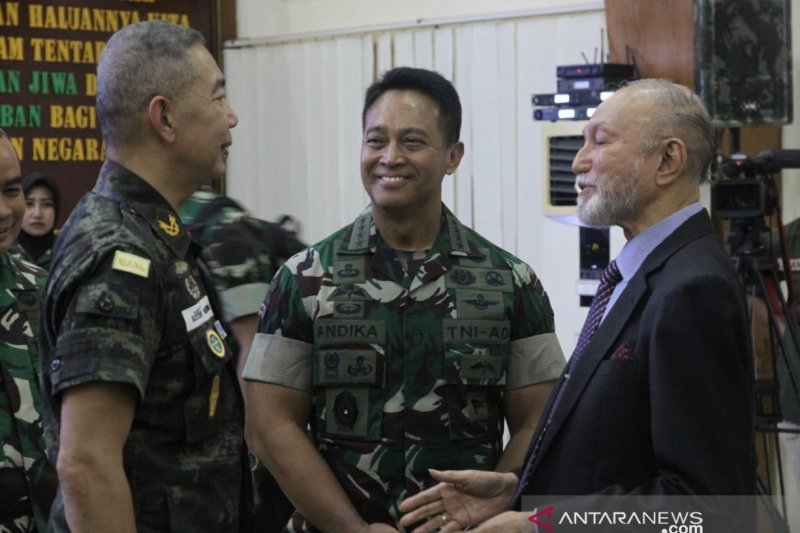 Panglima Angkatan Darat Thailand belajar penanganan konflik ke Aceh