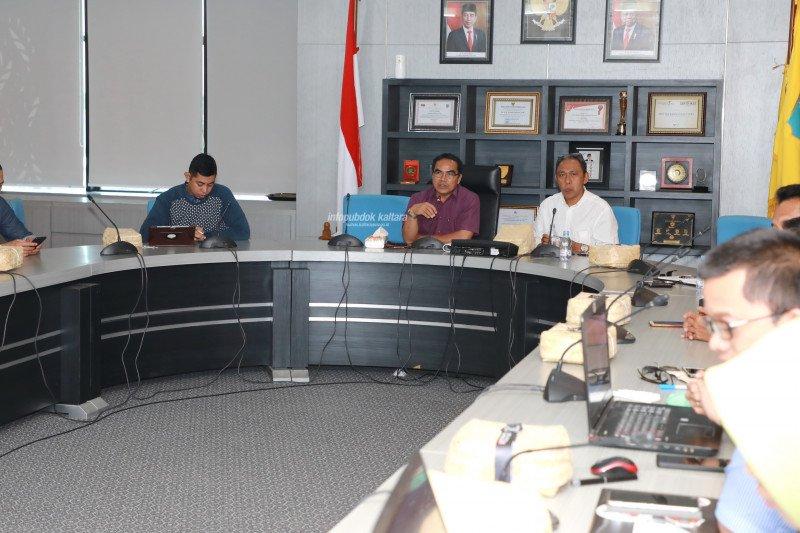 Percepatan Pembangunan KBM, Pemprov dan BPN Rapat Bersama