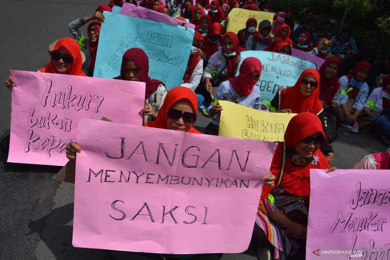 Kementerian PPPA:  Terjadi  8.488 kasus kekerasan perempuan dan anak selama 2019