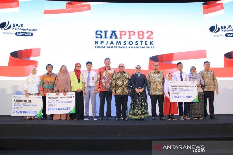 Ahli waris kecelakaan kerja IKPP terima santunan BPJamsostek