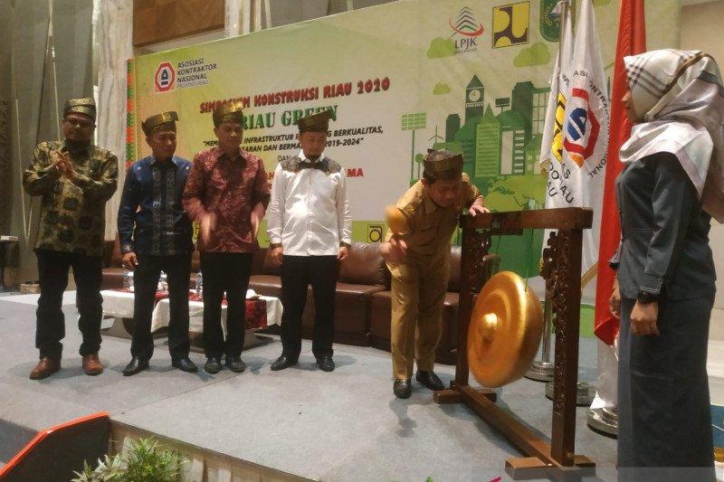 Asosiasi kontraktor usung konsep Riau Green bangun Bumi Lancang Kuning