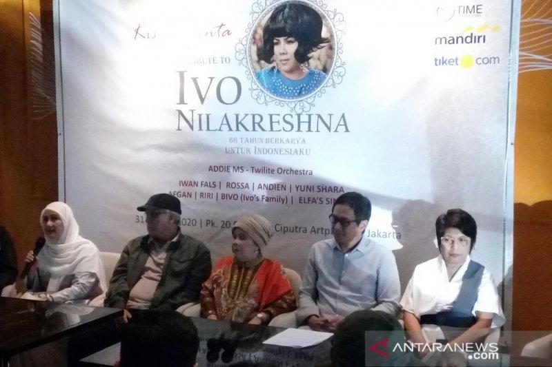 Iwan Fals hingga Afgan ikut meriahkan konser tribute Ivo Nilakreshna