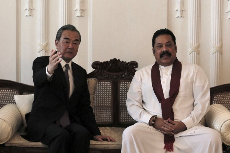 China minta AS tidak campuri hubungannya dengan Sri Lanka