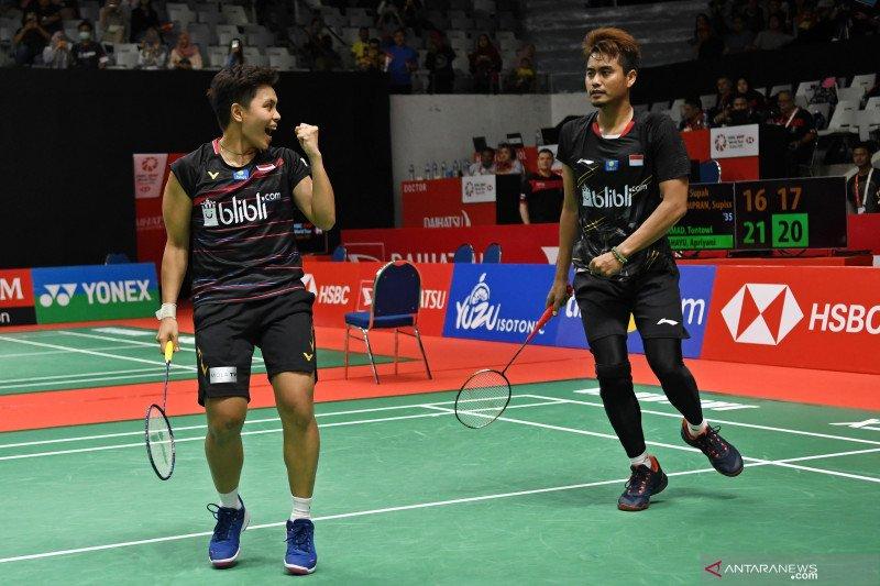 Owi/Apriyani melaju ke babak dua Indonesia Masters