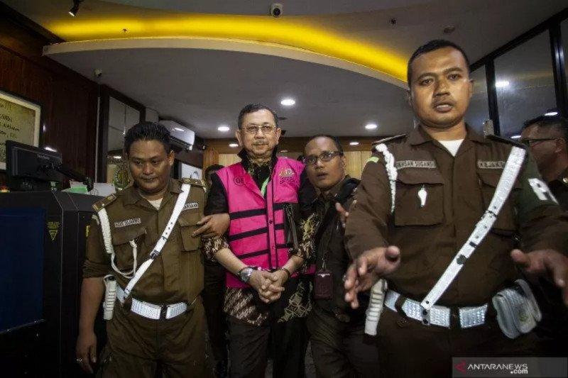 Mantan Dirut Jiwasraya ditahan
