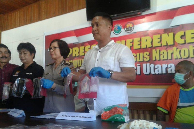 Polda Sulawesi Utara ungkap kasus narkotika melalui paket makanan