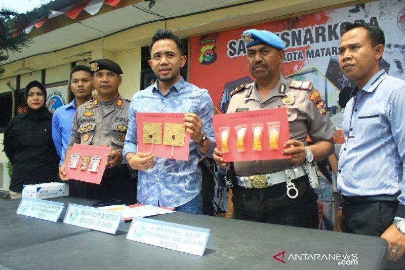 Polresta Mataram ungkap kasus peredaran narkoba