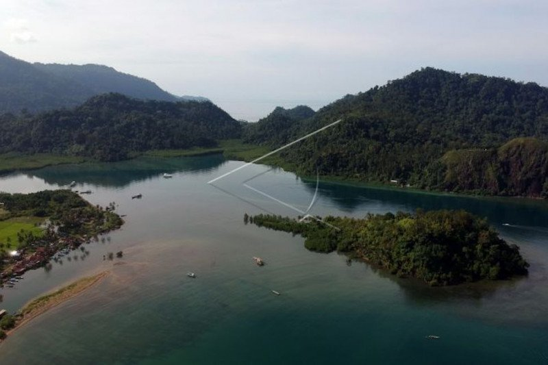 Padang will build a floating dock on Sungai Pisang