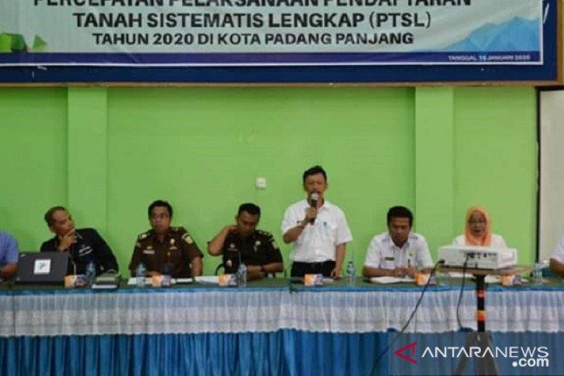 BPN beri penyuluhan PTSL bagi warga Padang Panjang