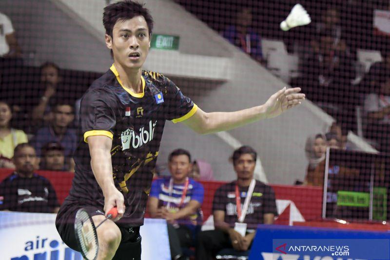 Rhustavito jaga asah Indonesia di Thailand Masters 2020