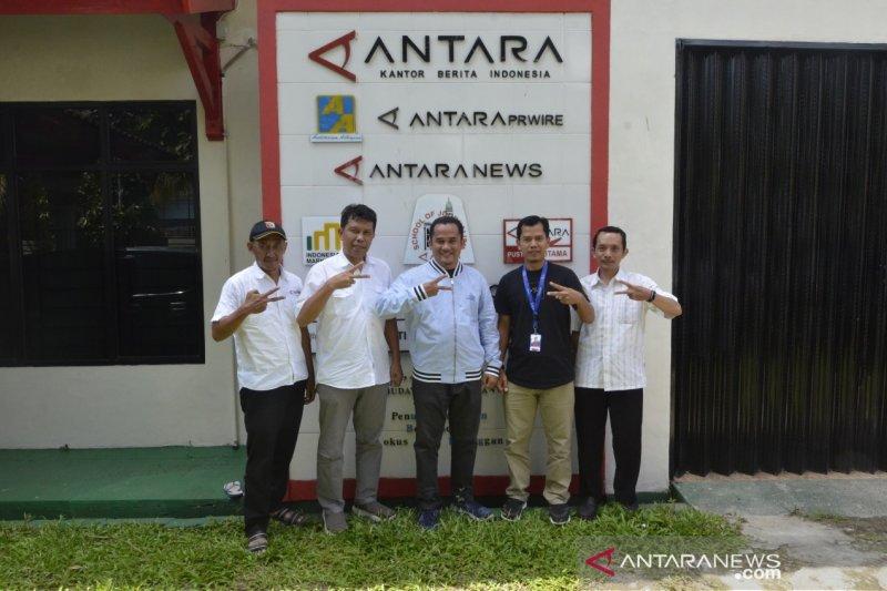 XL Axiata Tbk Kunjungi Antara Biro Lampung