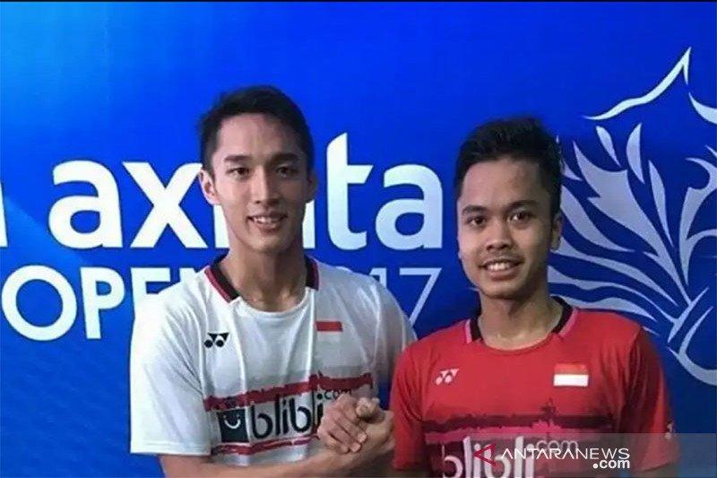 Anthony Ginting tundukkan Kashyap ke babak dua Indonesia Masters 2020
