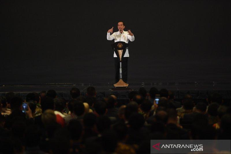 Hadiri acara HIPMI, Presiden Jokowi sebut Sandiaga kandidat Capres 2024