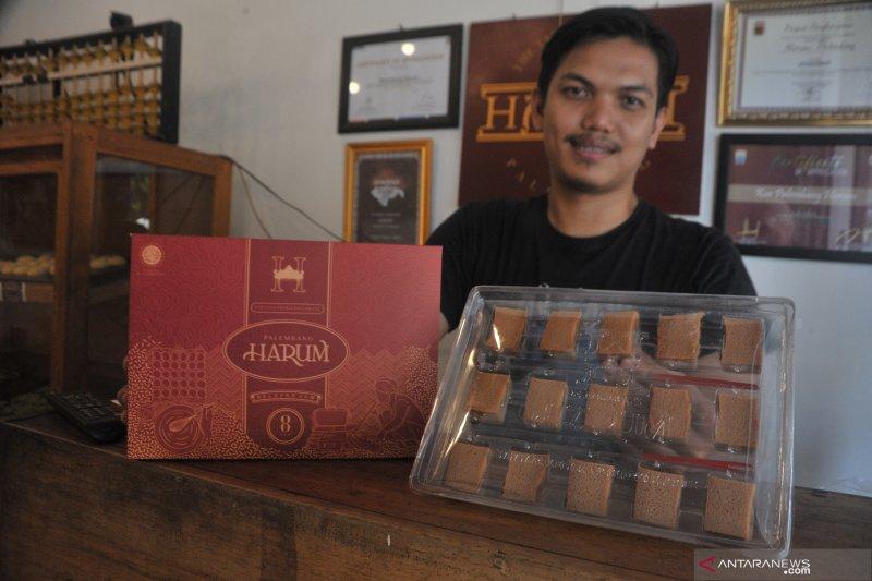 Pengusaha kue khas Palembang