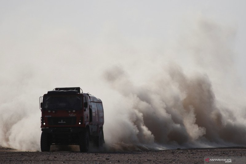 Cuaca buruk hambat etape 10 Reli Dakar 2020