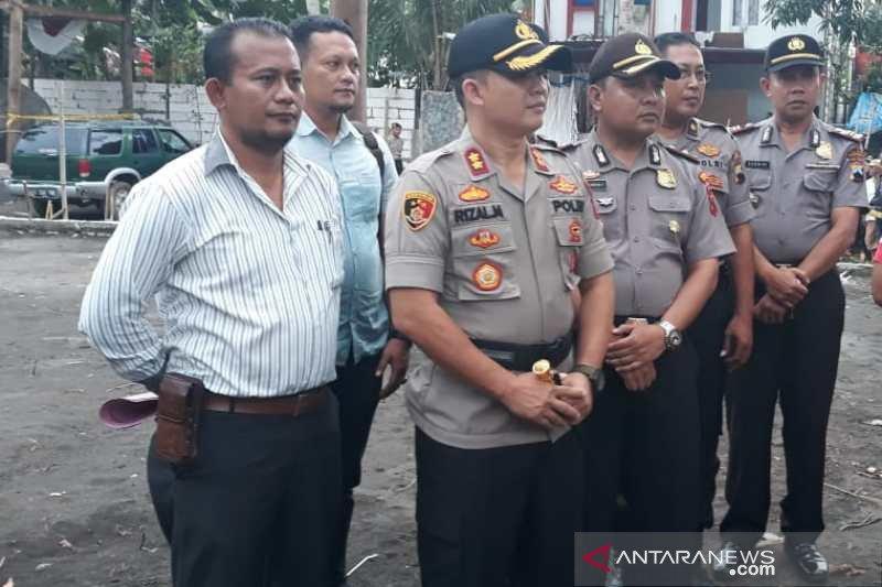 Polisi lakukan olah TKP Keraton Agung Sejagat