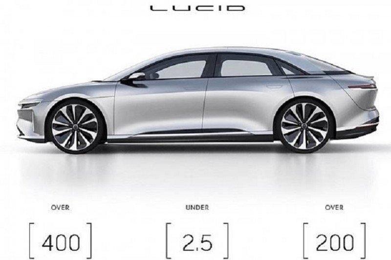 Satu lagi pesaing Tesla, Lucid Air bakal meluncur tiga bulan lagi