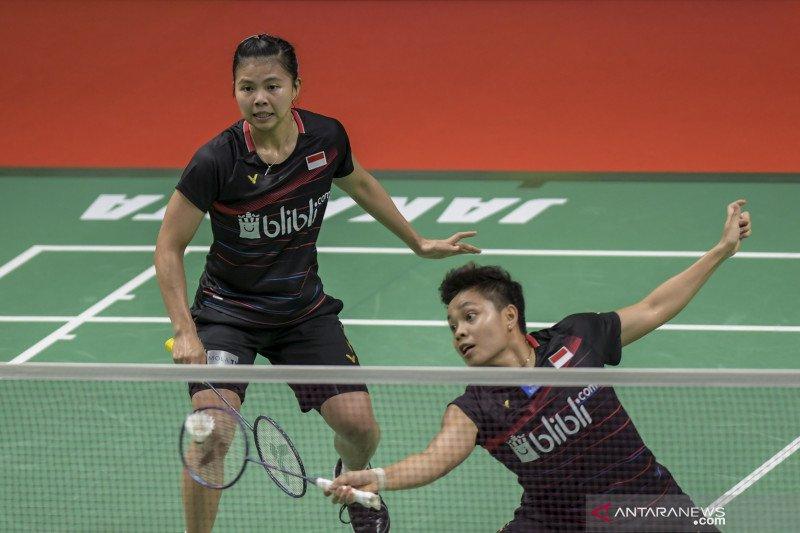 Greysia/Apriyani kembali jumpa musuh lama Shida/Nami Matsuyama di perempat final
