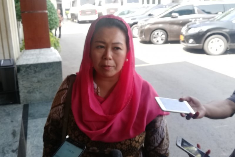 Yenny Wahid mengecam yel-yel SARA kegiatan Pramuka