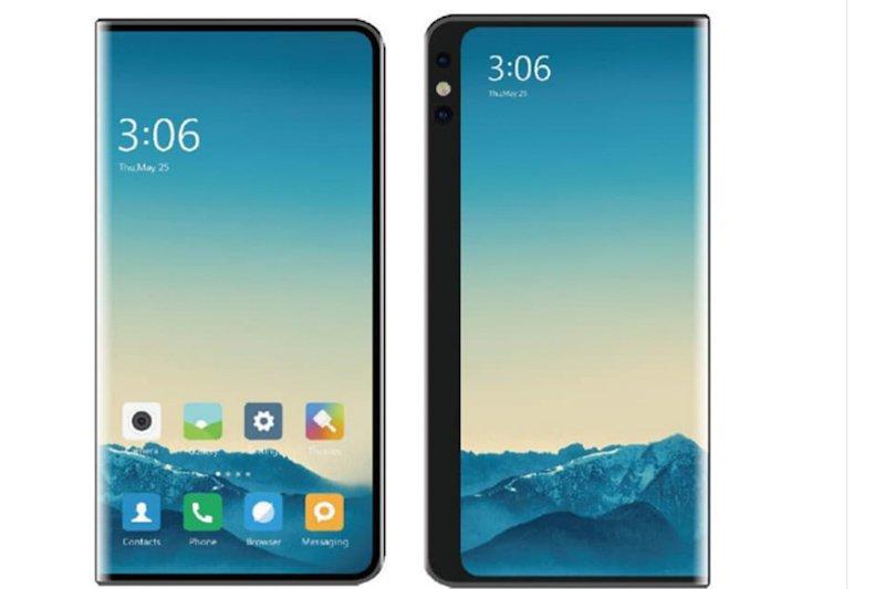 Desain layar ganda Xiaomi yang baru dipatenkan