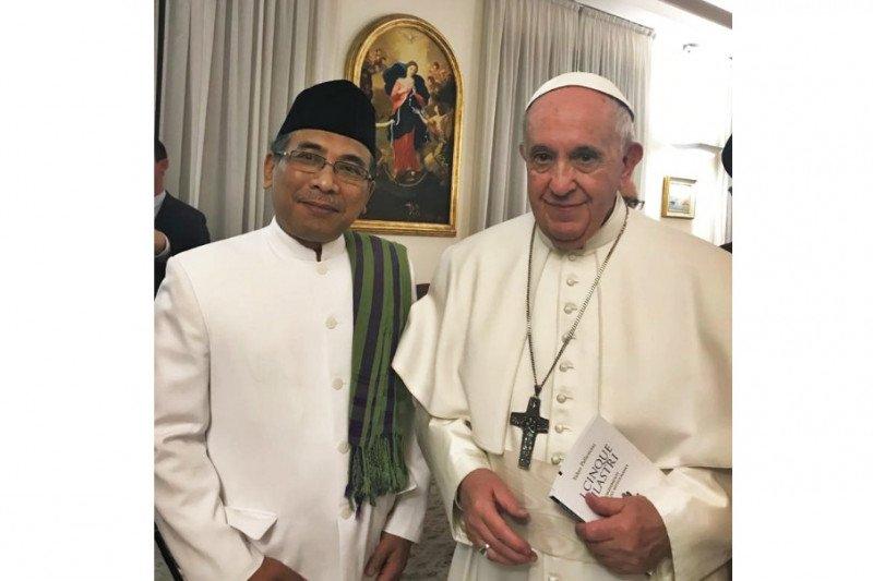 PBNU di Vatikan: Perlu aksi nyata atasi konflik agama