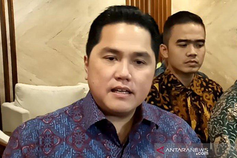 Erick Thohir sebut masalah Garuda yakni bisnis dan proteksi ketenagakerjaan